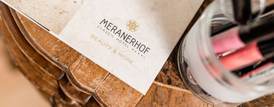 Meranerhof Beauty & More Spa-Behandlungen.