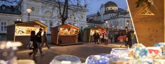 Magic Merano Christmas Market - Holiday in South Tyrol.