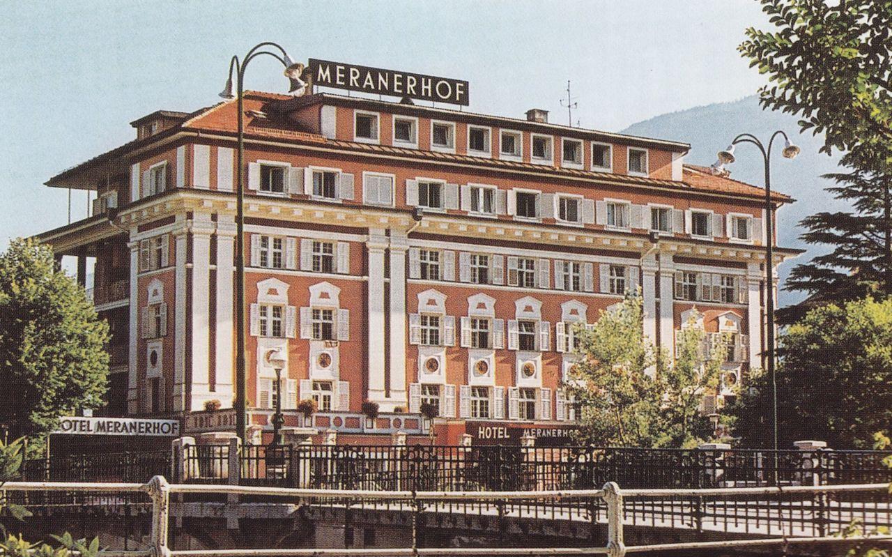 Historie - 4 Sterne Hotel Meranerhof - im Zentrum Merans